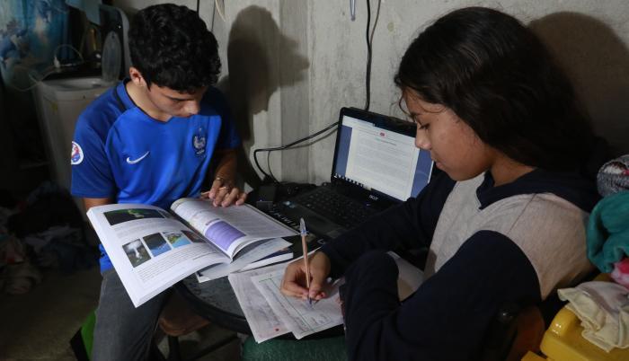 educación remota de emergencia