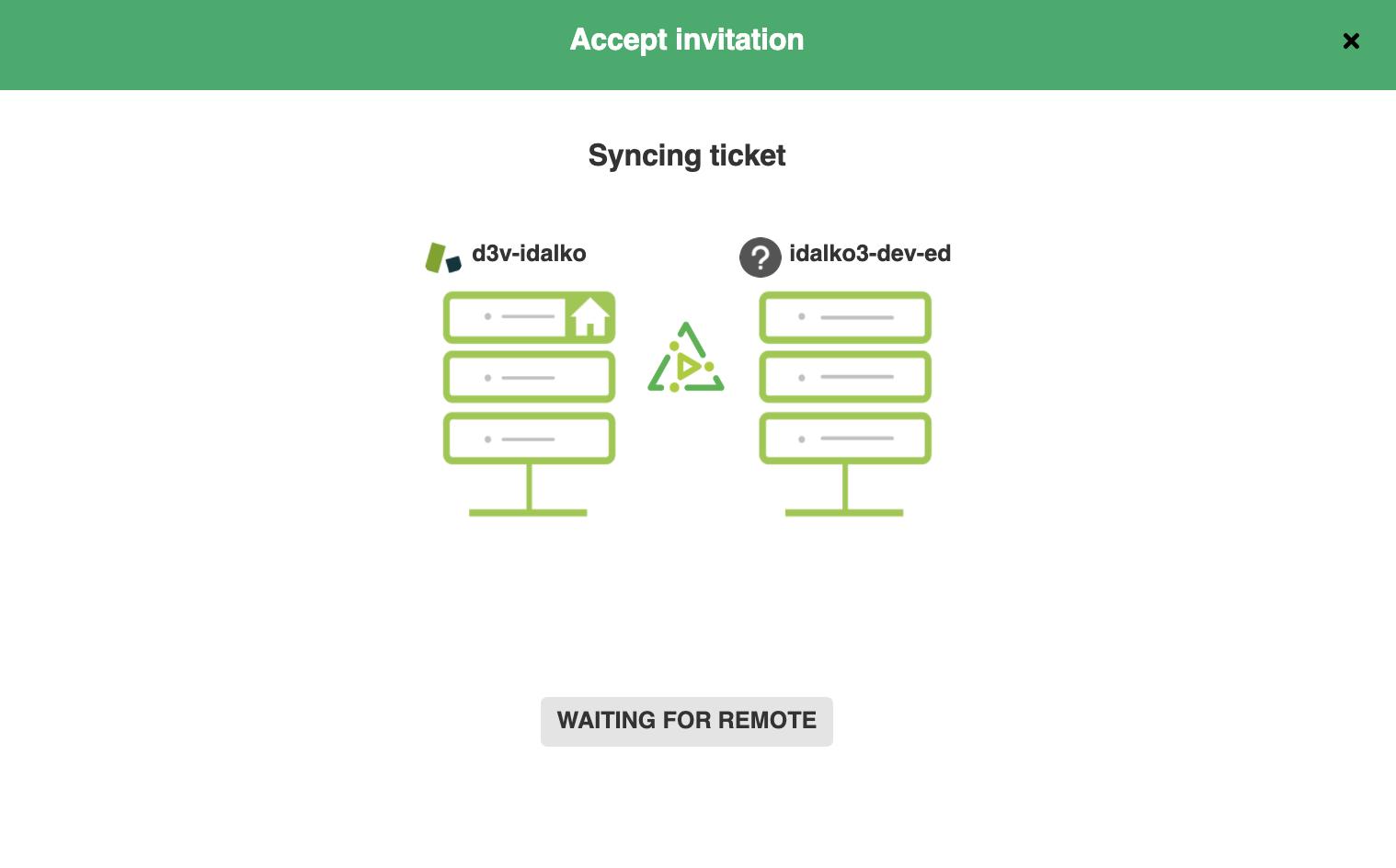 accept salesforce Zendesk sync invitation