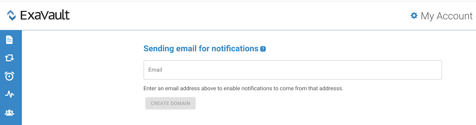 Customize sending email for notifications.