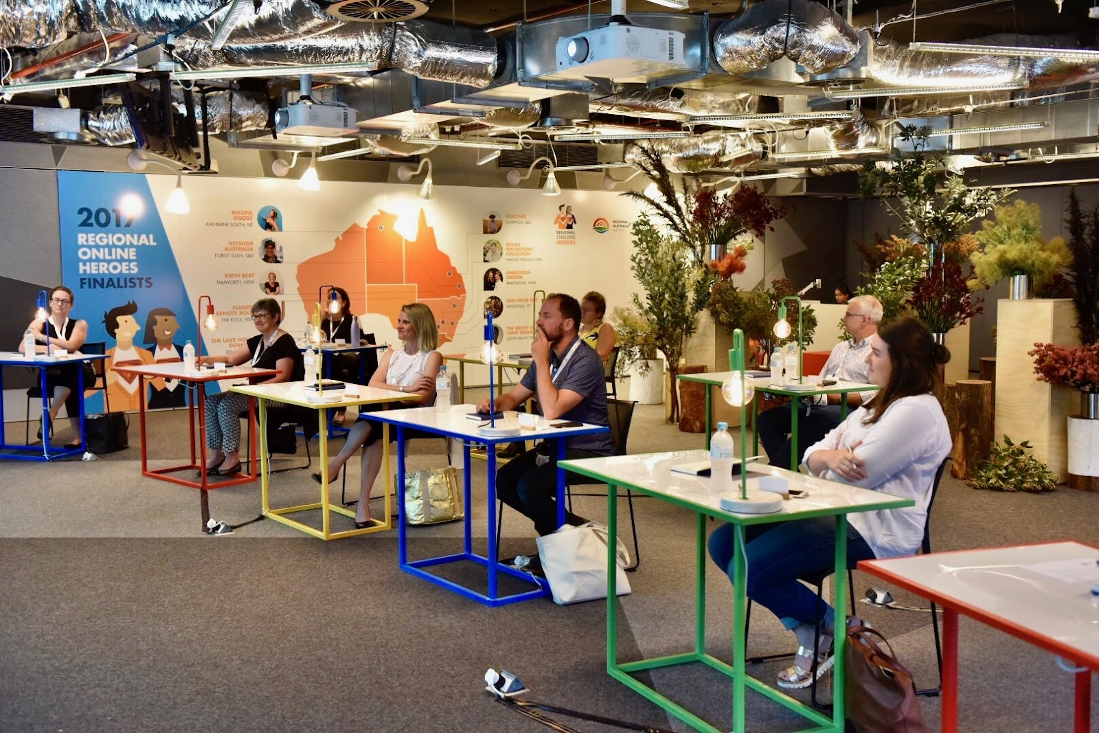 google office in sydney. Our Panel Of Esteemed Judges Included The Hon Michael McCormack MP, Minister For Small Business; Jack Archer, CEO Regional Australia Institute; Google Office In Sydney F