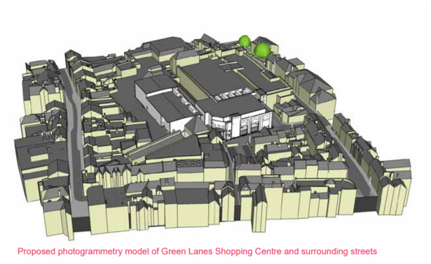 Artist impression of the Green Lanes Shopping Centre Cinema plans