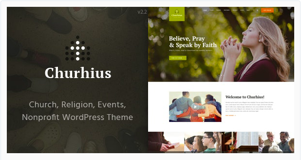 Best Church Website Template