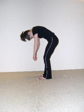 Standing Roll-down Stretch