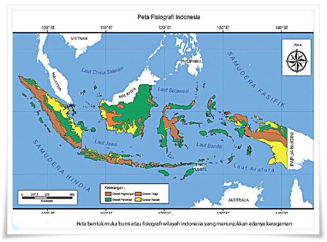 peta dunia - Materi IPS Kelas 7 Bab 1