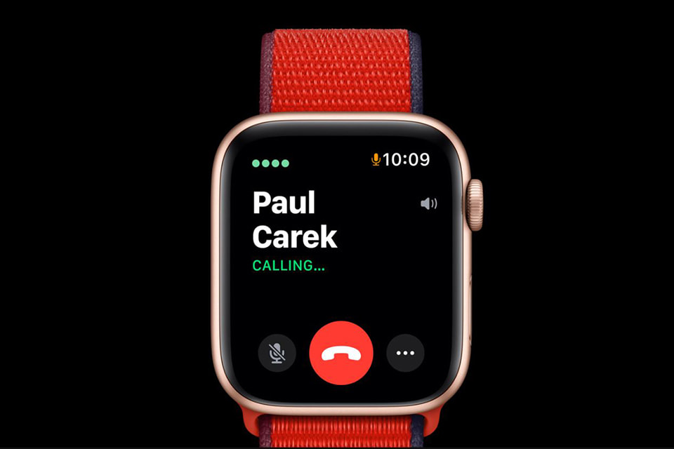 vào mạng Apple Watch Series 6