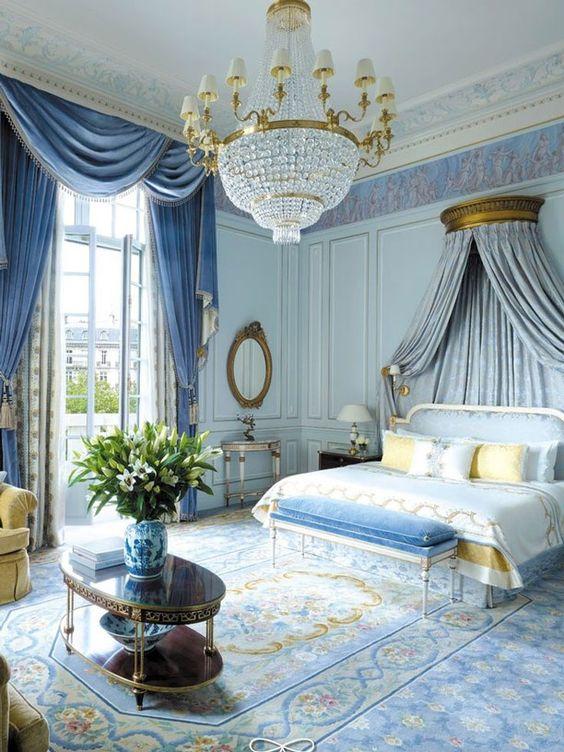 Light Blue Princess Bedroom Ideas