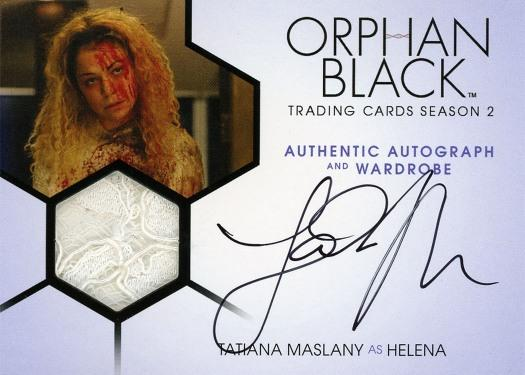 Orphan Black Trading Cards Season 2-Autograph