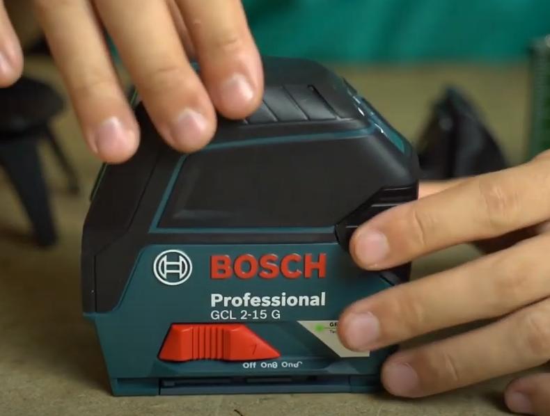Cách sử dụng máy cân mực laser