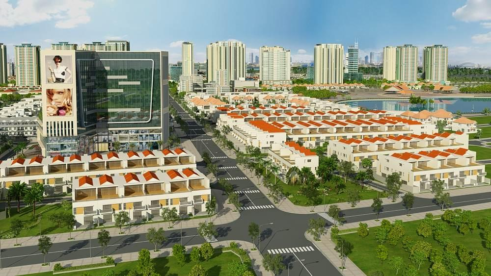 Hình ảnh về khu đô thị Đông Tăng Long
