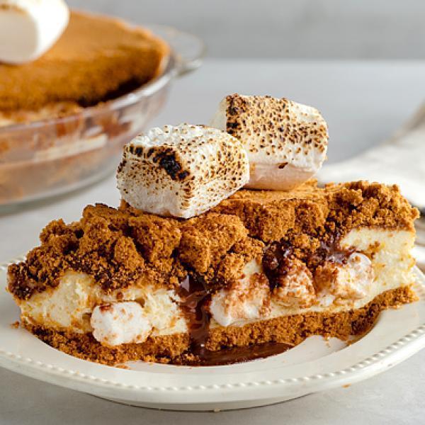 creamy ref cake recipes smores