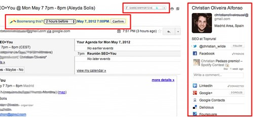 Hỗ trợ Gmail - Công cụ SEO