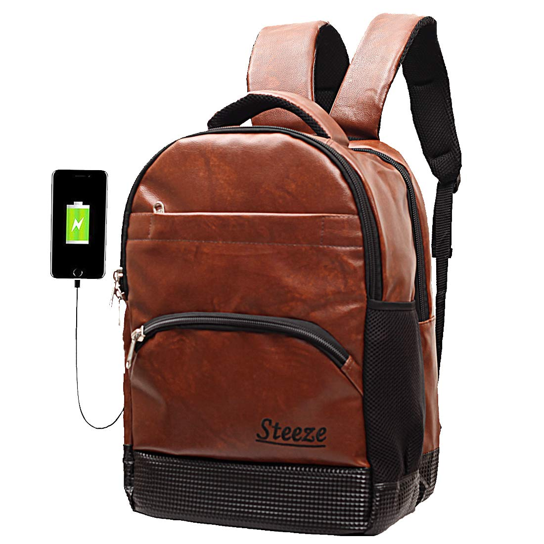 STEEZE Anti Theft 30 L Laptop Backpack with Lock USB Charging Port