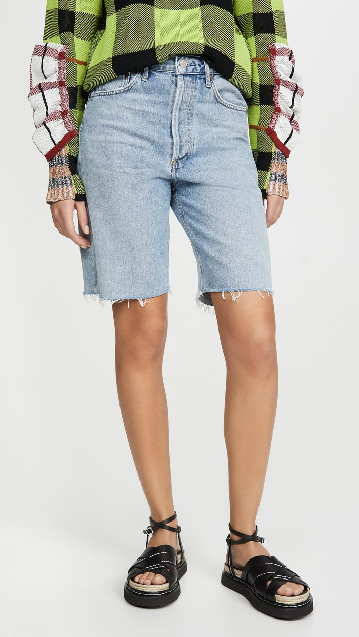 Agolde Mid Rise 90s Loose Shorts
