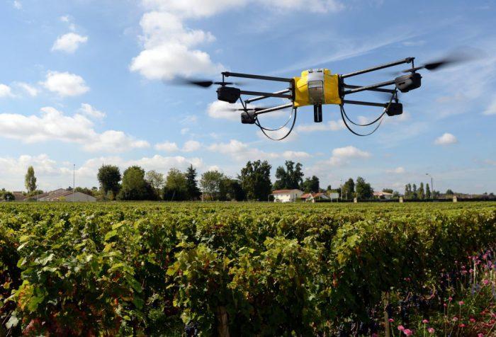 Drone de tecnologia agrícola