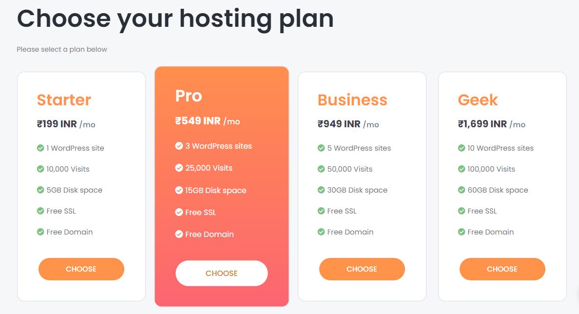 Hosting companies in India - WebSpaceKit