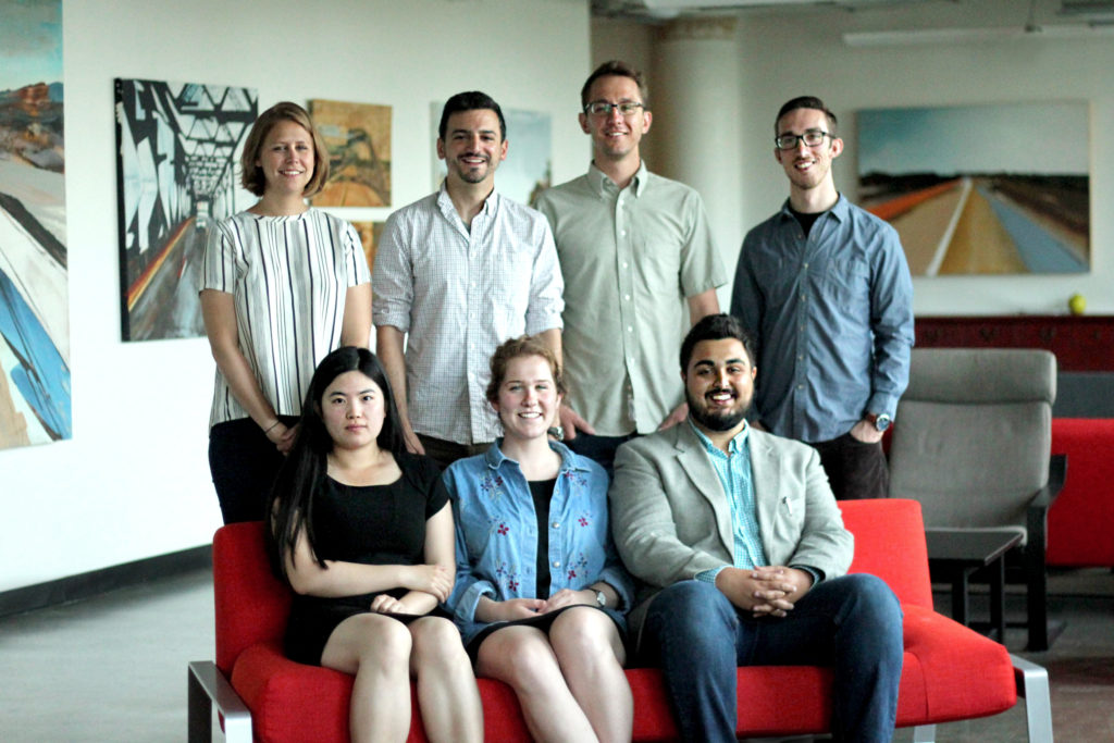 2018 Summer of Maps Fellows and Mentors