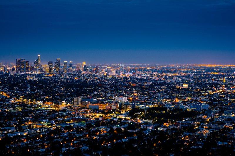 Nightime City Photo