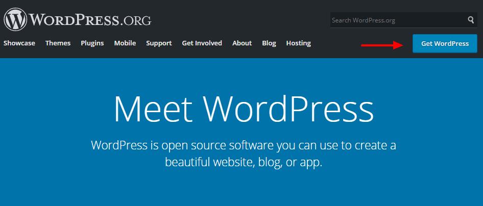 Official wordpress website