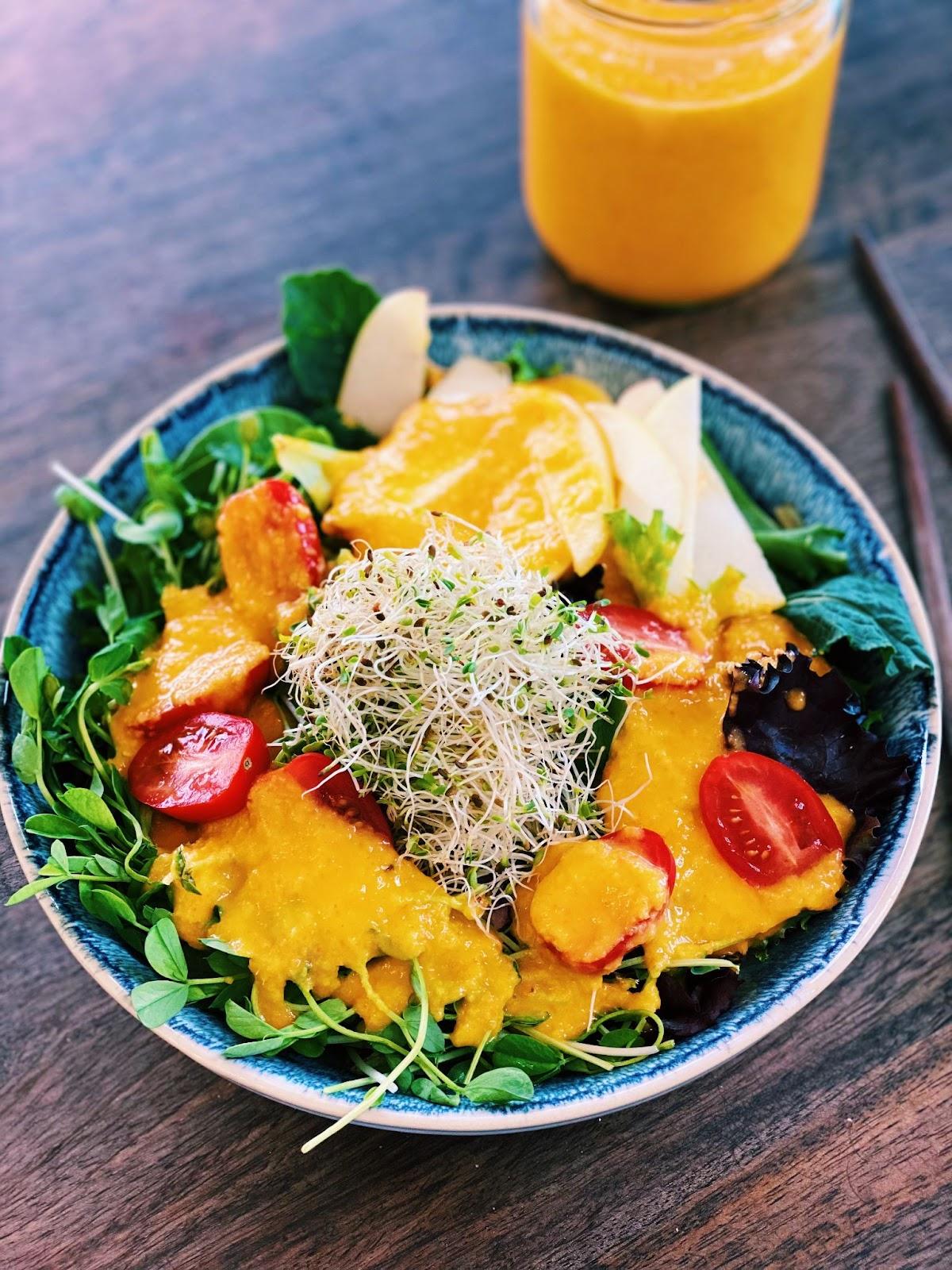 Japanese Ginger Salad Dressing (10 Minutes!)