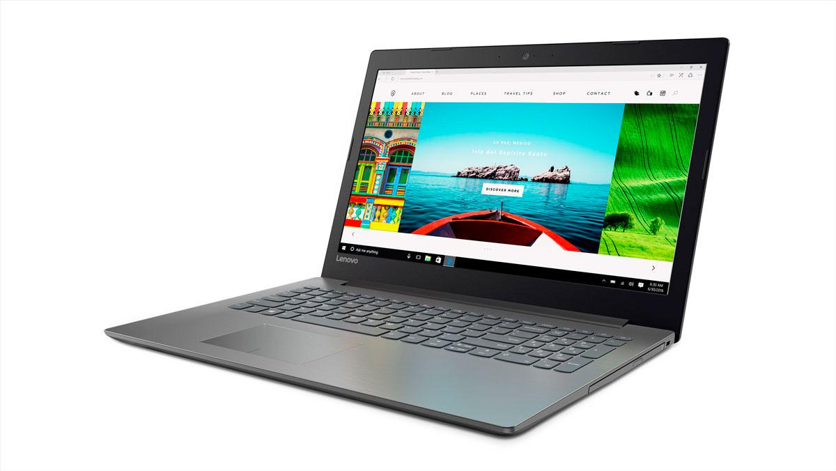 Фото1  Ноутбук Lenovo IdeaPad 320-15 Onyx Black (80XL0418RA)