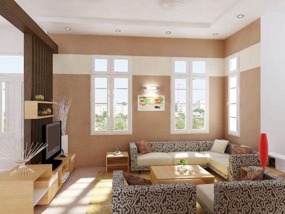 Thiết kế phòng khách nhỏ kích thước 3X3