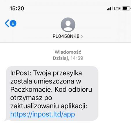 fałsywe aplikacje inpost