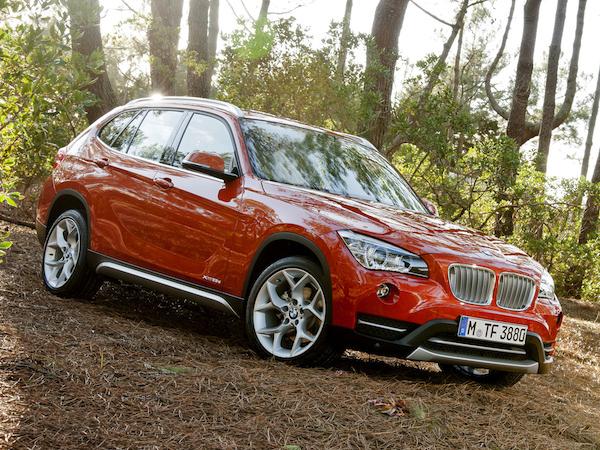 BMW X1สวยทุกมุม ไม่ว่าจะด้านหน้าหรือด้านหลัง