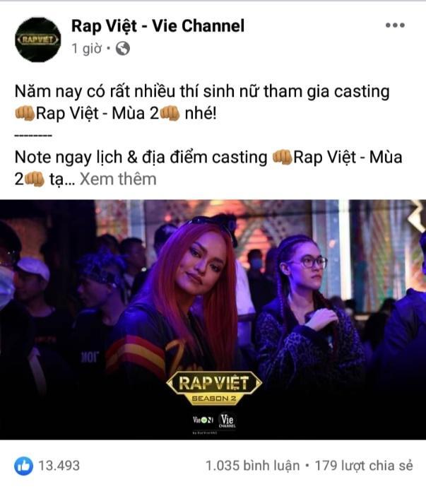 """Cộng đồng mạng """"rần rần"""" khi Mai Ngô bất ngờ casting Rap Việt mùa 2"""