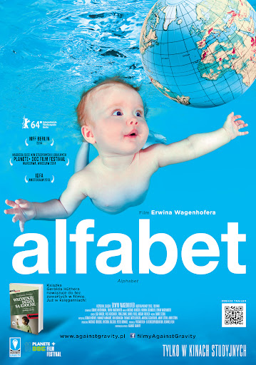 Polski plakat filmu 'Alfabet'