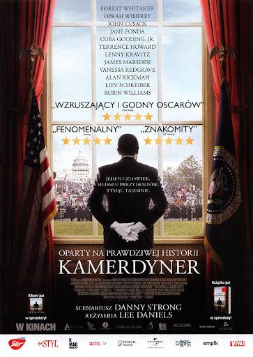 Przód ulotki filmu 'Kamerdyner'