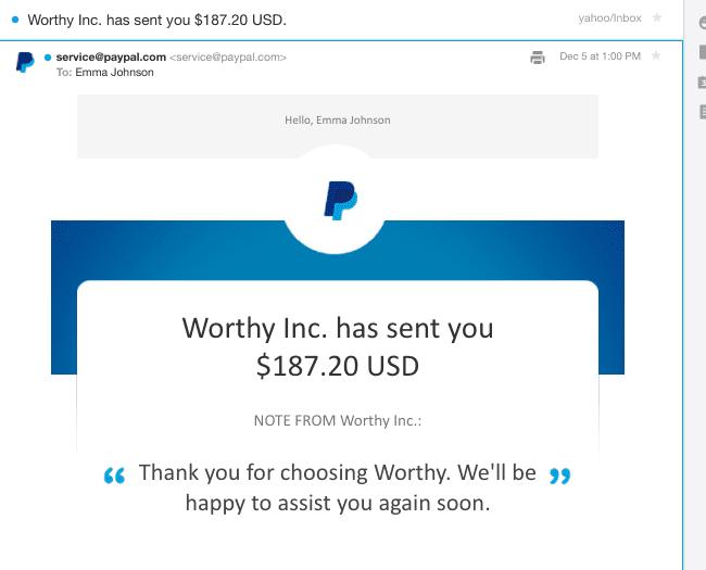 worthy.com review