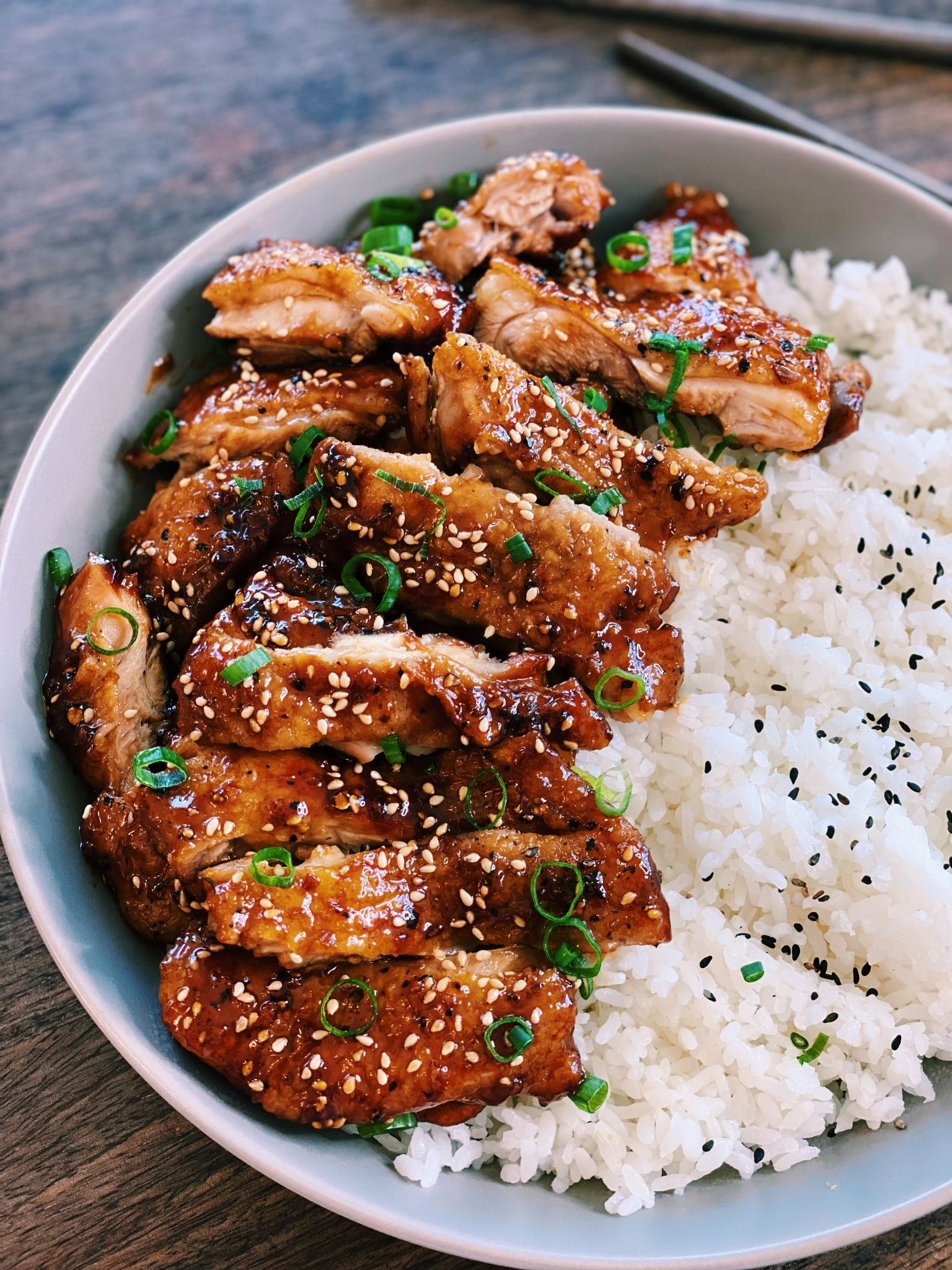 Garlic Black Pepper Chicken