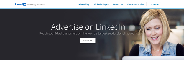 LinkedIn gezielte Verkäufe B2b ppc-Anzeigen