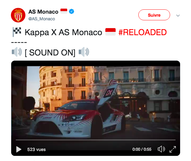 AS MONACO AND KAPPA® UNVEIL THEIR UPCOMING COLLABORATION