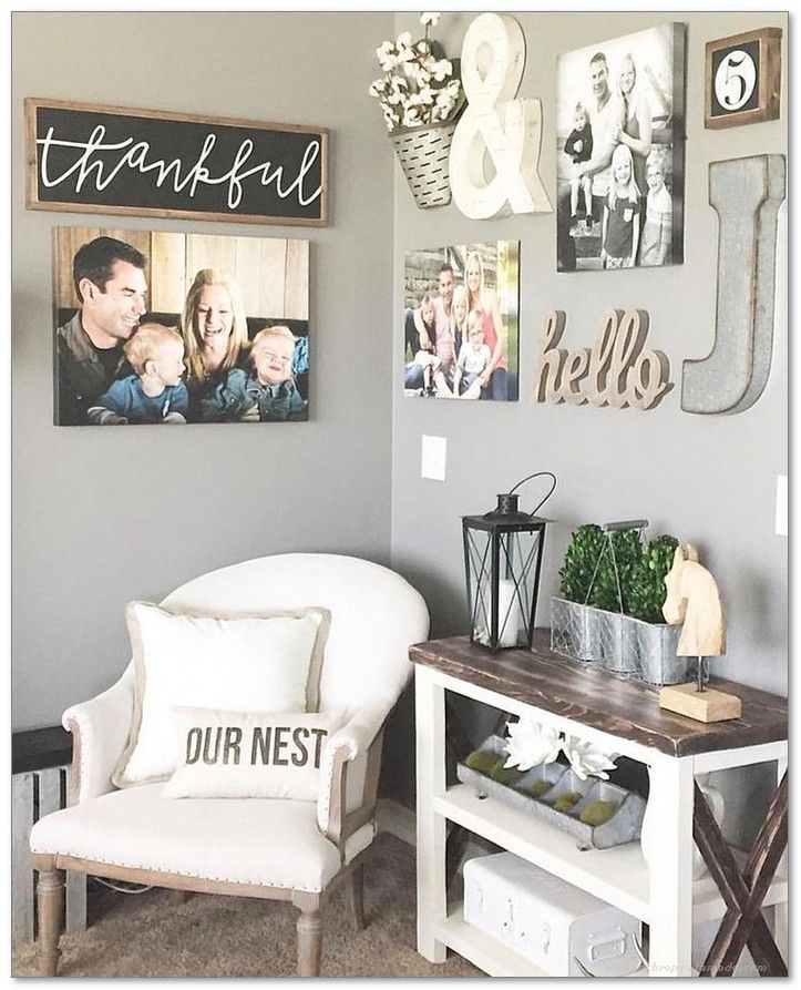 Make a Farmhouse Concept Wall the Focal Point in Any Room