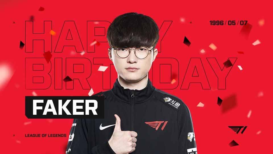 Faker ผู้เล่น Pro Player จากเกาหลี