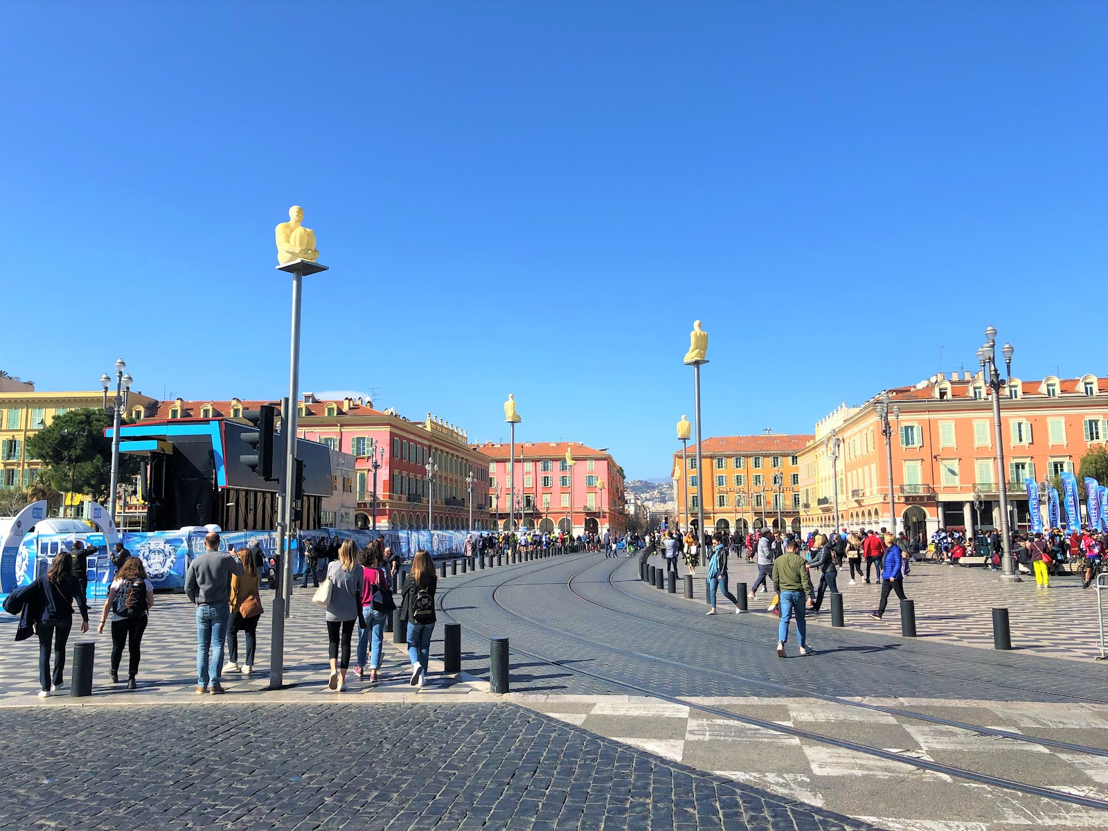 Place Masséna by day - Nice top things to do in 1 day