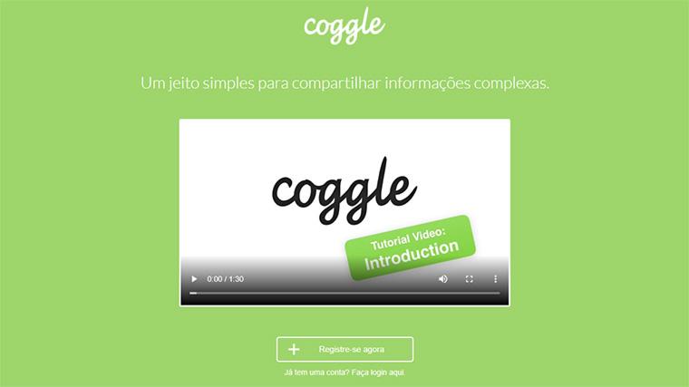 site para brainstorming online coggle