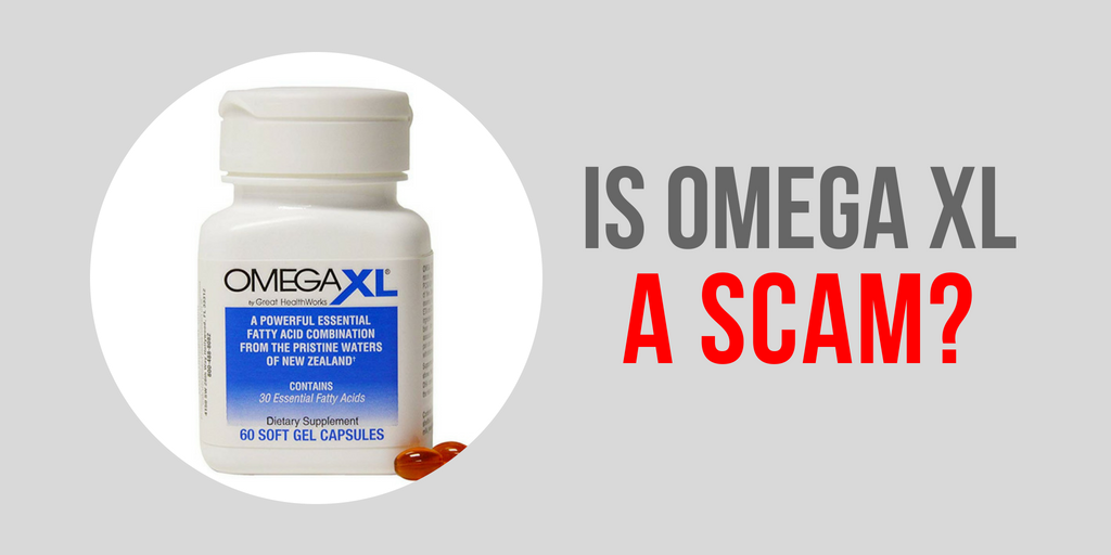 Image of Great HealthWorks Omega XL Soft Gel Capsules Containing 30 Free Fatty Acids - Is Omega Xl A Scam?