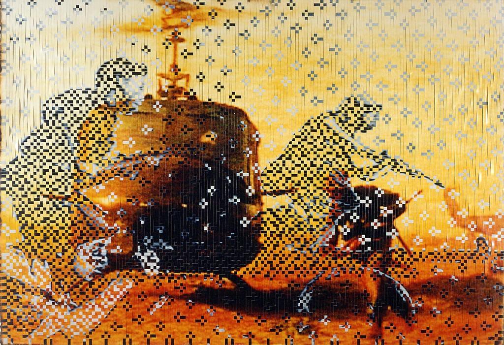 Dinh Q Le's artworks: Persistence of Memory #14 (2000-2001) in Mori Art Museum