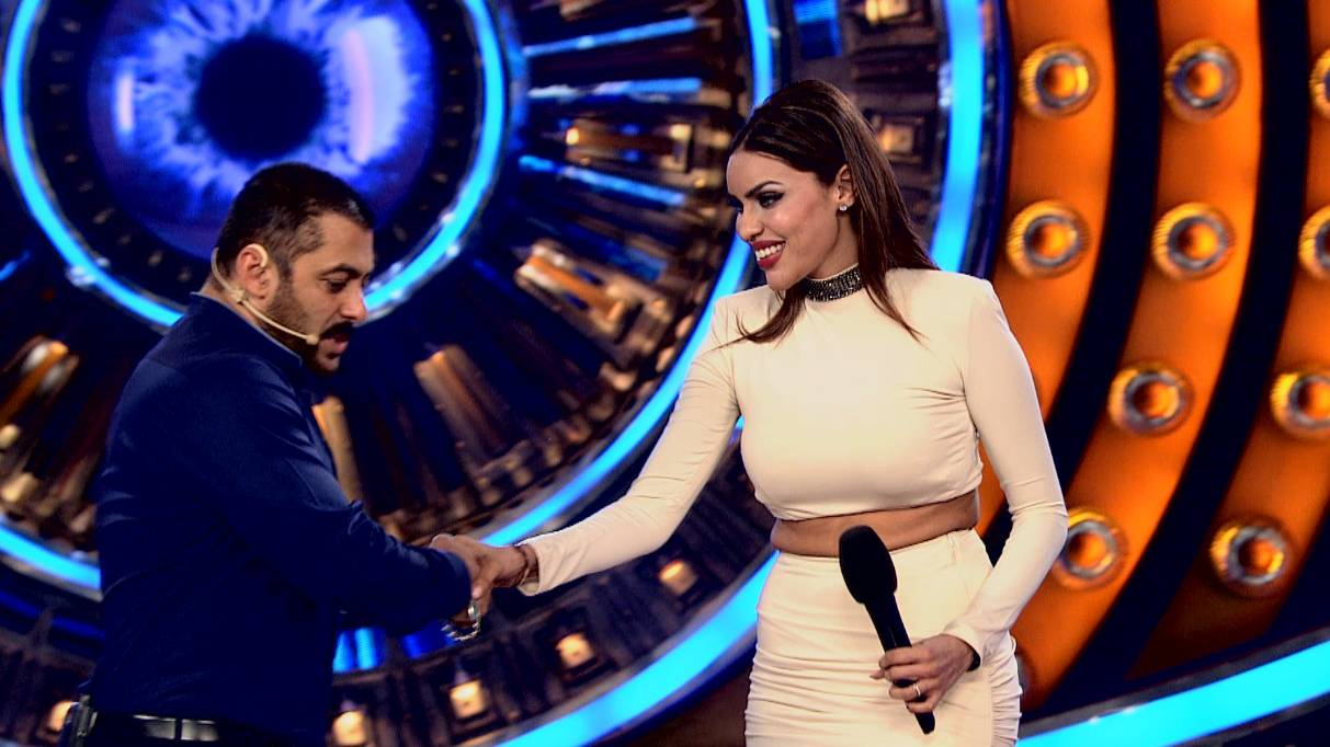 1. She's somewhat scared of Salman