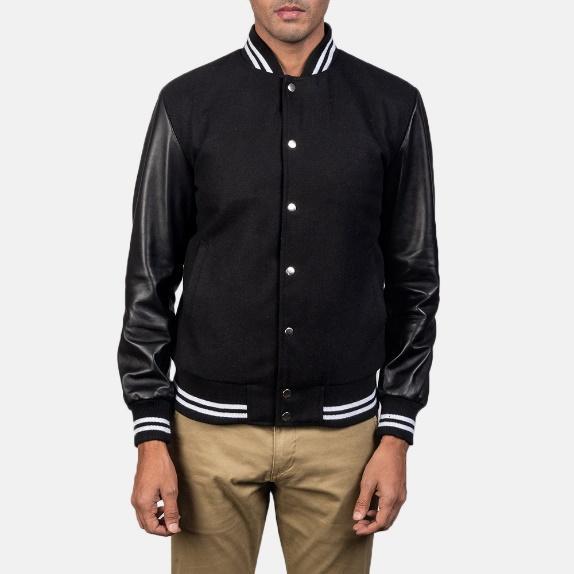 varsity hybrid jacket