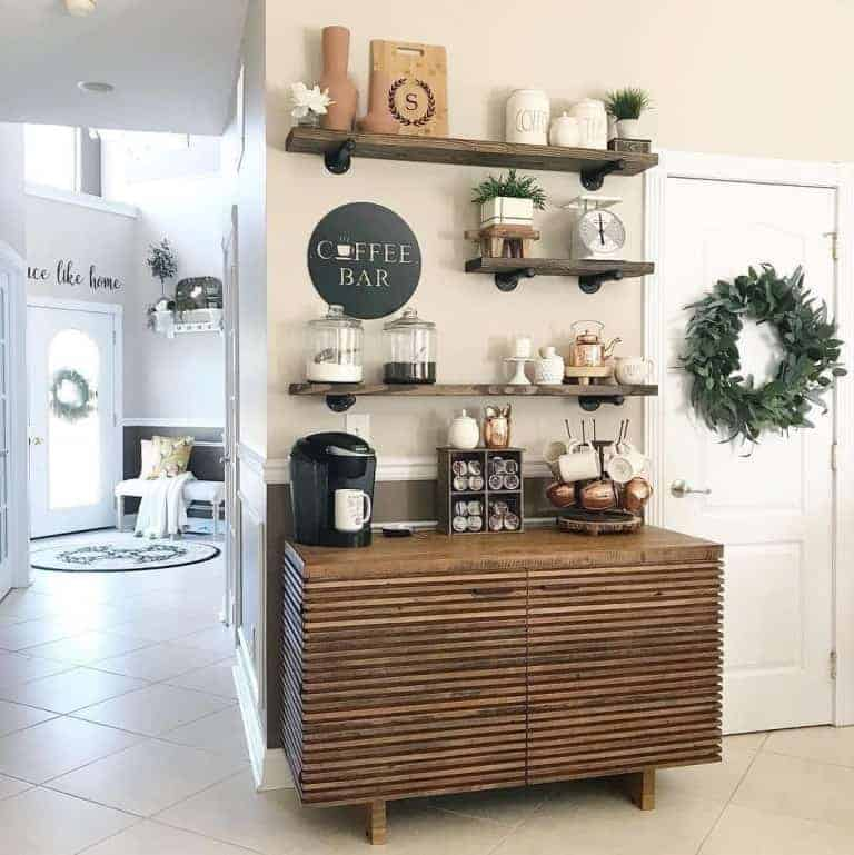 Simply Welcoming DIY Coffee Station