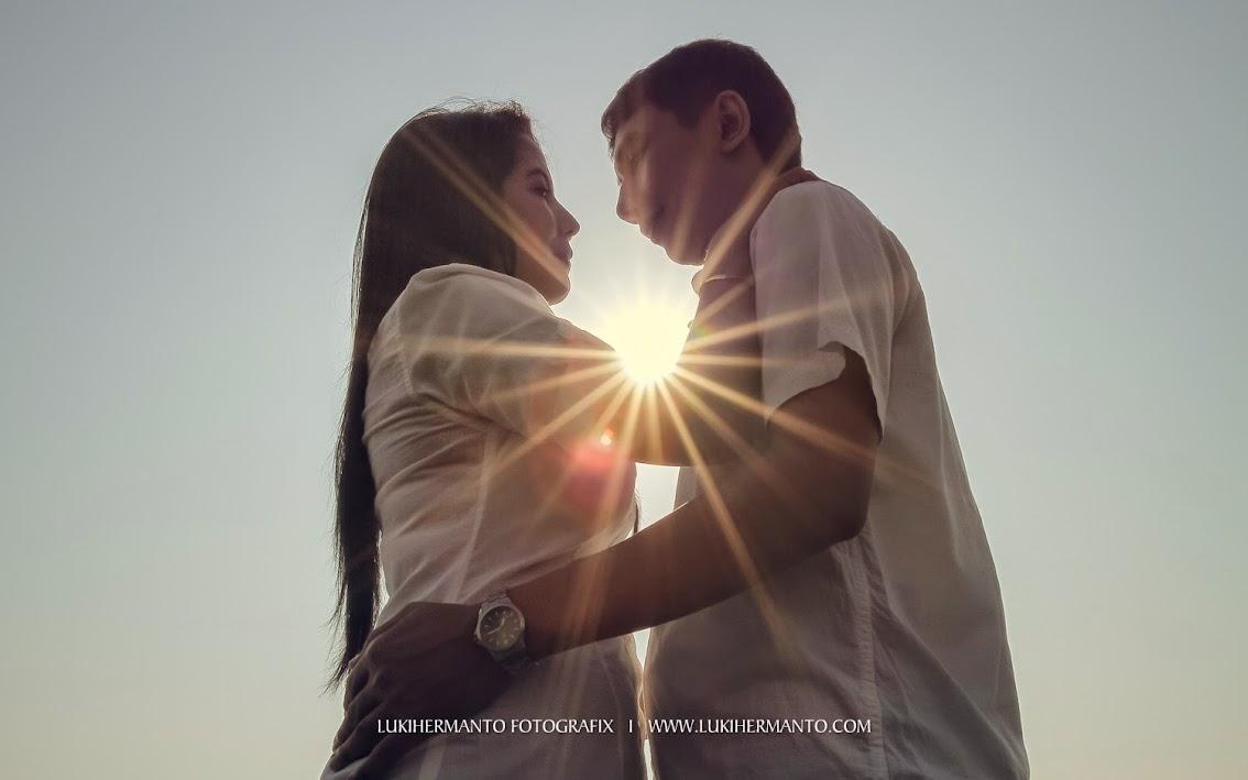 foto prewedding 2014 siluet romantis