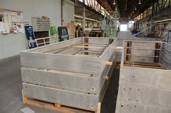 Sign cabinets ready for production-resized-600 | L&H Sign Company,  Philadelphia, PA