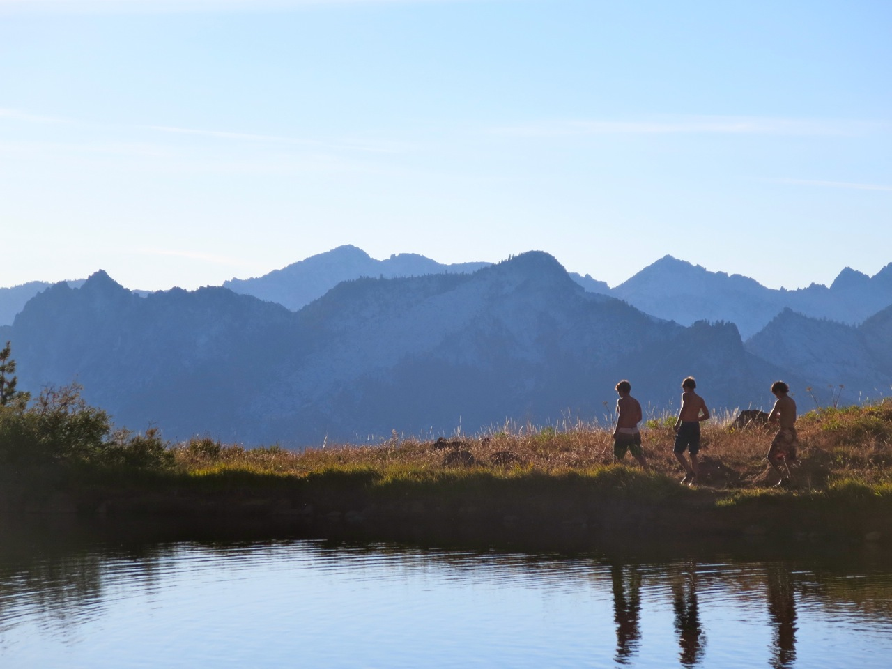 Boys on Lake with Mtns in Backdrop small.jpg