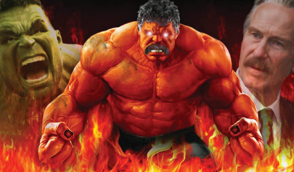Red Hulk will be introduced in the MCU's phase 4