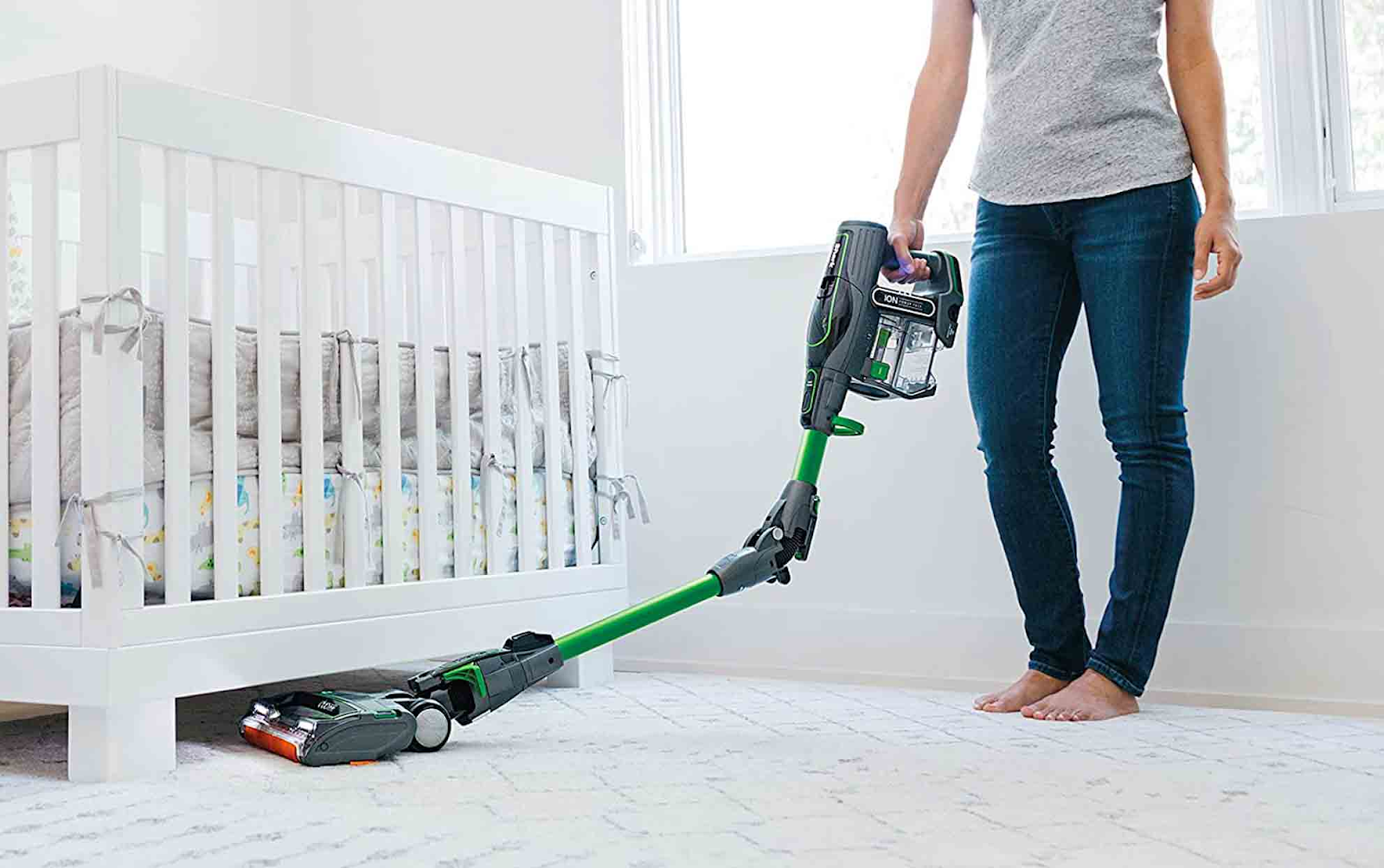 You can use cordless vacuum cleaner for whole house cleaning.