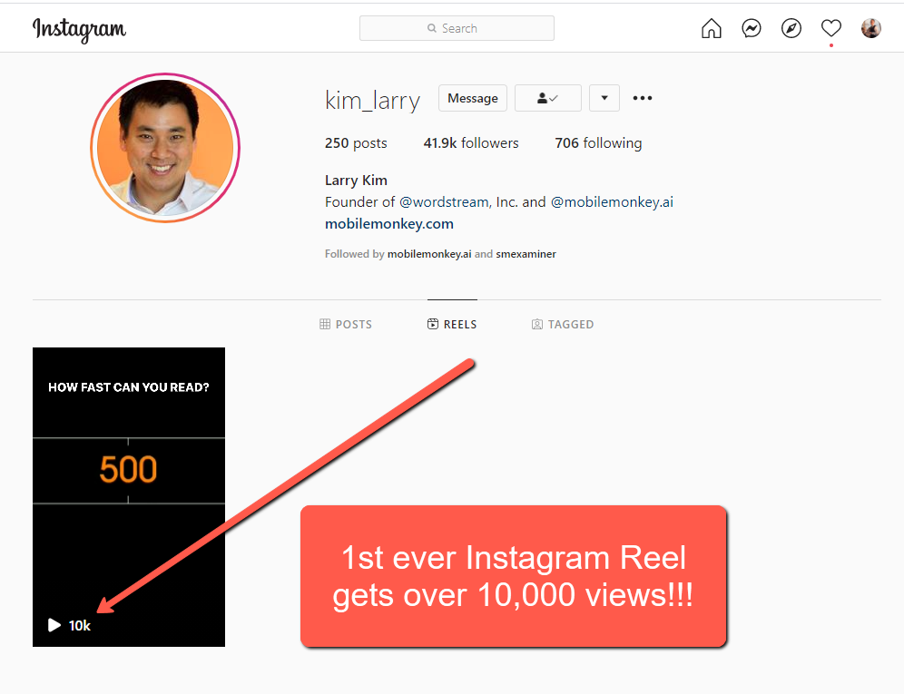 Utilize the Reels Feature to increase Instagram engagement