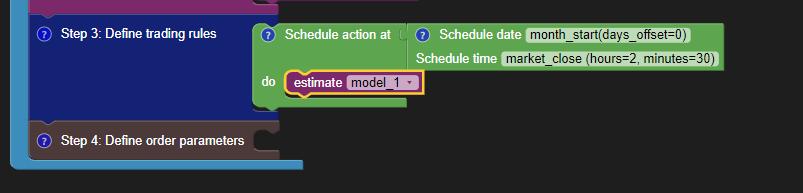 Adding the Model